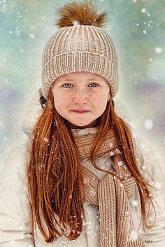 Red hair and freckles Beautiful Red Hair, Gorgeous Redhead, Mixed Media Photography, Winter Photography, Children Photography, Redheads Freckles, Freckle Face, Natural Redhead, Ginger Hair