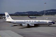 """O """"PP-VJX"""" voou com a Varig até 1986; em seguida foi vendido a FAB (Domínio Público)"""