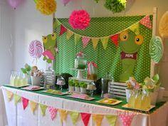 Cumples Tematicos: Candy Bar Sapo Pepe y Sapa Pepa