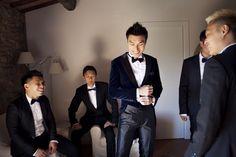 Jeff y sus groomsmen #novio #groom #tendenciasdebodas