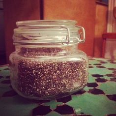"Des graines de chia #superaliment en vrac, chez un marchand vraiment pas aidant pour qui le concept #zerodechet ""était vraiment pas pratique"", pfff #keepcalmandcarryon So I finally found #chia seeds in #bulk ... In the least #zerowaste bulk shop ever. They actually forbade I take a pic or even publicize my find, as I bought the seeds in one of their glass refillable containers instead of their #plastic ones. ""The glass container are normally for gift only"" I kept myself from saying that for…"