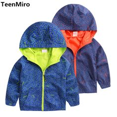 Cool Kids Toddler Boys Jacket Coat Hooded Jackets For Children Outerwear Clothing Minnie Spring Baby Boy Clothes Windbreaker Blazer - $ - Buy it Now!