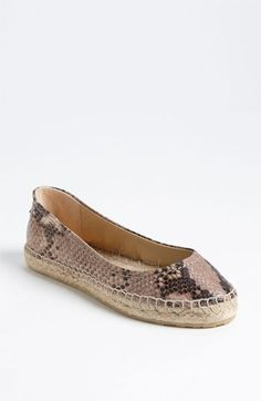 Jimmy Choo 'Pow' Espadrille Flat available at #Nordstrom