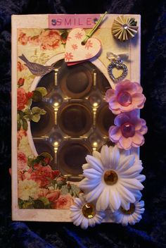 altred toffifee-box Box, Frame, Cards, Home Decor, Packaging, Basteln, Picture Frame, Snare Drum, Decoration Home