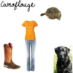Camoflouge, created by adele-kaja on Polyvore #Country #Southern #Countrygirl