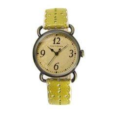 Yellow Doily Watch