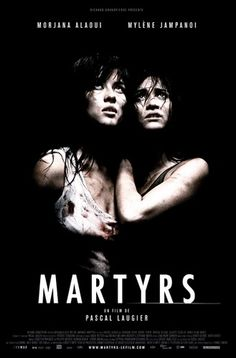 Martyrs (3.5 stars) French horror movie that is brutal in its depiction of the abuse one human can inflict upon another, with excellent effects to make it that much worse. I found the premise behind the abuse to be weak, however, the performances by the two leads were amazing.