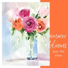 Summer Blooms Series | Laura Trevey