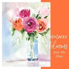 Summer Blooms Series | Laura Trevey