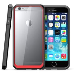 TNI Premium Designed Bumper Case with Clear Back Cover for iPhone 6 6s a94ba6cb335a7