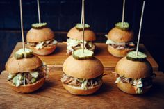 Pulled Pork Sliders - MStreet Catering and Events, Nashville, TN