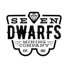 Seven dwarfs mining company silhouette cameo design Disney T-shirts, Disney Tees, Disney Style, Disney Love, Disney Fonts, Disney Designs, Thing 1, Silhouette Cameo Projects, Disney Scrapbook
