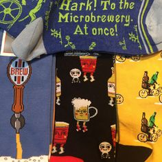 We can't guarantee you'll escape this wild night with all your clothes, but this collection of BEER socks at least has your feet covered!