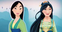 old Mulan v. new Mulan