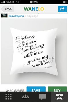 Quotes on cushions