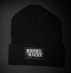 """Broke Hatrè """"Logo"""" Beanie"""
