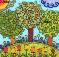 Lombos fák Yoshi, My Arts, Painting, Character, School, Flowers, Painting Art, Paintings, Painted Canvas