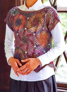 Crochet Sweater: Vest A