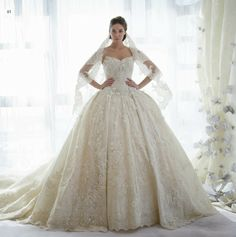Strapless Princess Ballgown Wedding Dress
