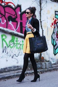 VJ Style Smiley Face Bag Phantom ($37.99) Found by FashionHippieLoves