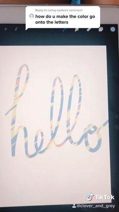 Digital Art Beginner, Drawing Tutorials For Beginners, Create Drawing, Ipad Art, Graffiti Lettering, Wow Art, Lettering Tutorial, Digital Art Tutorial, Cricut