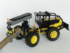 Lego Technic Sets, Lego Truck, Making A Model, Lego Construction, Lego Models, Legos, Brick, Monster Trucks, Building