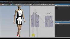 Hướng dẫn thiết kế váy cut-out trắng đen - thoitrangthuy.com