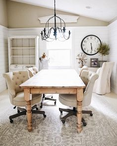 158 Best Farmhouse Style Office Images