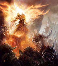 Hero's call by Daarken dans Darkness hero__s_call_by_daarken-d4bc7ul