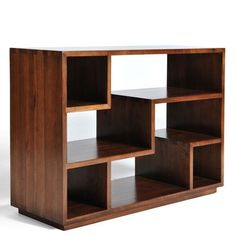 "Gingko Home Furnishings Tao 24"" Accent Shelves Bookcase"
