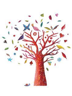 The Poem Tree wall art