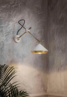 Robbie Llewellyn and lighting manufacturer Adam Yeats created Bert Frank in 2013 and have this year launched the industrial lighting range at Heal's. Bert Frank Shear wall light