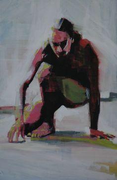 Mark Horst   Light around the body no. 12, 2011   oil on canvas