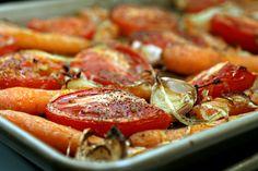 roasted tomato & carrotsoup