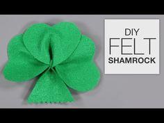 How to Make an Easy Felt Shamrock
