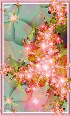 Sakura by Shadoweddancer on deviantart flower fractal