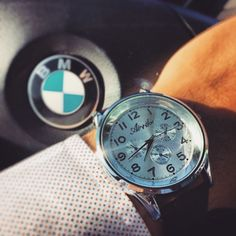 BMW x Gents Timepieces. Here featured is Quintessential ($13)