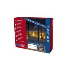 Konstsmide Outdoor 24V LED Christmas Light Chain 10m Extension Cable *** For more information, visit image link.