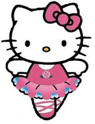 Image result for free hello kitty clip art ballerina