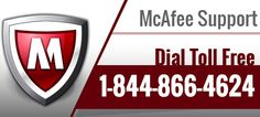 McAfee Tech Support Dial Toll Free @ 1-844-866-4624