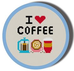 Hey, I found this really awesome Etsy listing at https://www.etsy.com/listing/189037822/i-heart-coffee-cross-stitch-pattern-pdf