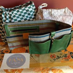 Ha-na By Atsuta Manufacture de Sacs Organiser, Creations, Kimono, Fashion, Fabrics, Pouch Bag, Organization, Leather, Bag