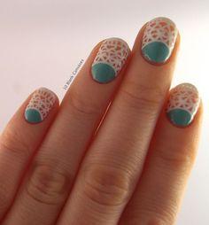 40 lace nail art