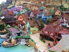 Malta Popeye town