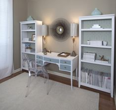 office storage   House of Turquoise: Guest Blogger: Stacy of Stacy Naquin Interiors
