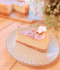 秘密にしたい♡簡単ベイクドチーズケーキ