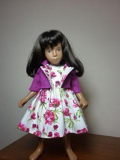 Rose print dress with jacket by Jadzia