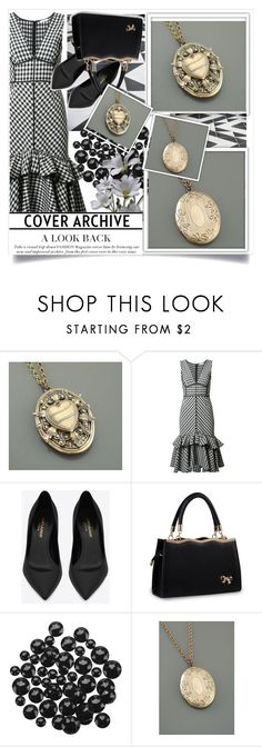"""""""Chloesvintagejewelry  9"""" by k-lole ❤ liked on Polyvore featuring Tome, Yves Saint Laurent and vintage"""