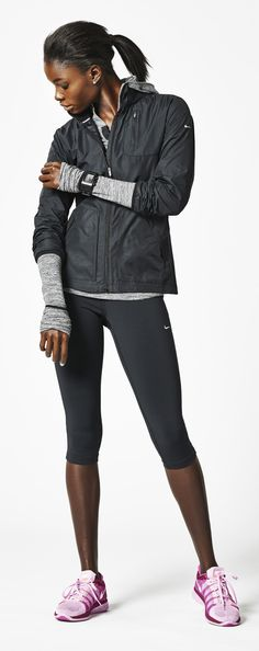 #Nike #running #style @ http://www.FitnessApparelExpress.com