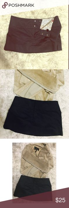 ▪️▪️▪️GUESS BLACK MINI SKIRT. LBD. SIZE 23▪️▪️▪️ GUESS Size 97% cotton 3% Spandex stretch Black mini skirt with side slits. HOT! Size 23. Worn once! ❌⭕️❌⭕️ Skirts